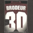 MARTIN BRODEUR - 1997-98 Pacific Paramount Big Numbers - New Jersey Devils