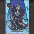 FELIX POTVIN - 1997-98 Pinnacle Certified MIRROR BLUE - Maple Leafs, Canucks & Kings