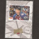 JOE SAKIC 1997-98 Donruss Priority Stamp - Colorado Avalanche