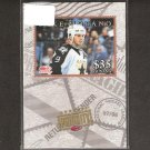 MIKE MODANO 1997-98 Donruss Priority Bronze Stamp - Dallas Stars & Detroit Red Wings