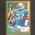 RICKY WILLIAMS 2010 Topps GOLD Parallel - Dolphins, Saints & Texas Longhorns
