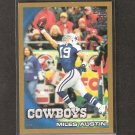 MILES AUSTIN 2010 Topps GOLD Parallel - Dallas Cowboys & Monmouth