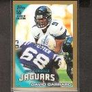 DAVID GARRARD 2010 Topps GOLD Parallel - Jacksonville Jaguars & East Carolina