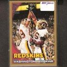 WASHINGTON REDSKINS team card 2010 Topps GOLD Parallel