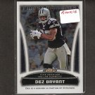 DEZ BRYANT - 2010 Finest Moments Rookie Card - Dallas Cowboys & Oklahoma State
