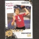 SEAN CANFIELD - 2010 Score Scorecard Rookie - New Orleans Saints & Oregon State Beavers