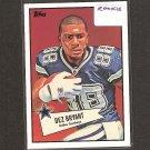 DEZ BRYANT - 2010 Topps 52 Bowman Rookie Card - Dallas Cowboys & Oklahoma State