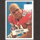 FRANK GORE 2010 Topps 52 Bowman - 49ers & Miami Hurricanes