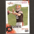 COLT McCOY 2010 Score Glossy Rookie - Cleveland Browns & Texas Longhorns