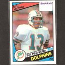 DAN MARINO 2010 Topps Rookie REPRINT - Dolphins & Pitt Panthers
