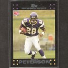 ADRIAN PETERSON 2010 Topps Rookie REPRINT - Vikings & Oklahoma Sooners