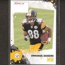 EMMANUEL SANDERS - 2010 Score Rookie - Steelers & SMU Mustangs