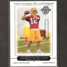 AARON RODGERS 2010 Topps Rookie REPRINT - Packers & Cal Golden Bears
