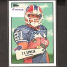 CJ SPILLER - 2010 Topps 52 Bowman Rookie - Bills & Clemson Tigers