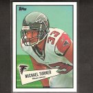 MICHAEL TURNER - 2010 Topps 52 Bowman - Falcons & Northern Illinois