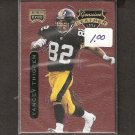 Yancey Thigpen - 1996 Playoff Contenders LEATHER - Steelers, Chargers & Oilers