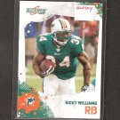 RICKY WILLIAMS - 2010 Score GLOSSY Parallel - Dolphins & Texas Longhorns