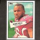 BEANIE WELLS - 2010 Topps 52 Bowman - Cardinals & Ohio State Buckeyes