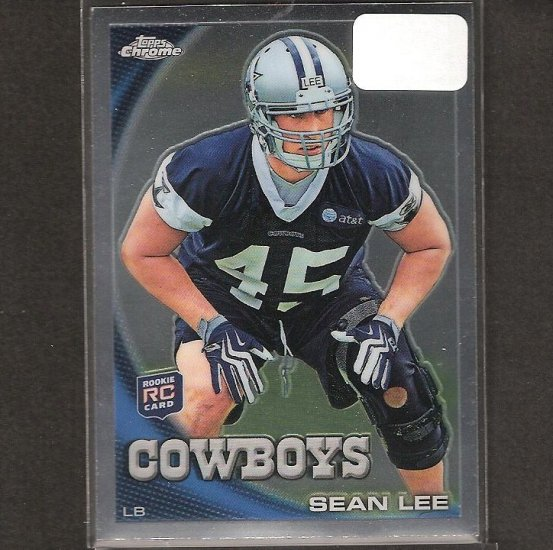 SEAN LEE - 2010 Topps Chrome Rookie - Cowboys & Penn State
