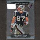 ROB GRONKOWSKI 2010 Topps Platinum Rookie - Patriots & Arizona Wildcats