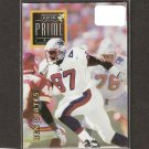 BEN COATES - 1996 Playoff Prime Gold RARE - Patriots & Livingstone College
