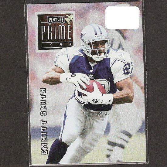 EMMITT SMITH - 1996 Playoff Prime Silver UNCOMMON - Cowboys & Florida Gators