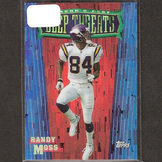 RANDY MOSS 1999 Topps Season's Best - Vikings, Titans & Marshall