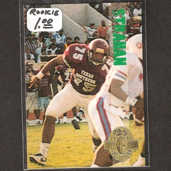 MICHAEL STRAHAN 1993 Classic 4 Sport ROOKIE - Giants & Texas Southern