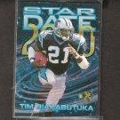 TIM BIAKABUTUKA - 1997 Skybox EX 2000 Star Date - Carolina Panthers & Michigan Wolverines