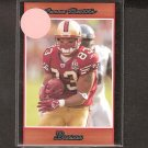 ARNAZ BATTLE - 2007 Bowman ORANGE Parallel Rookie - Steelers, 49ers & Notre Dame