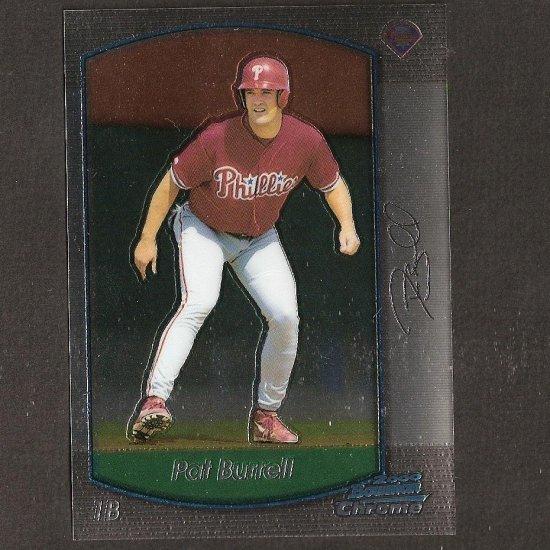 PAT BURRELL 2000 Bowman Chrome OVERSIZE - Box Topper - San Francisco Giants