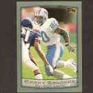 BARRY SANDERS 1999 Topps OVERSIZE - Box Topper - Detroit Lions & Oklahoma State