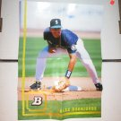 ALEX RODRIGUEZ 2005 Bowman Throwback Posters 1994 - Mariners & Yankees