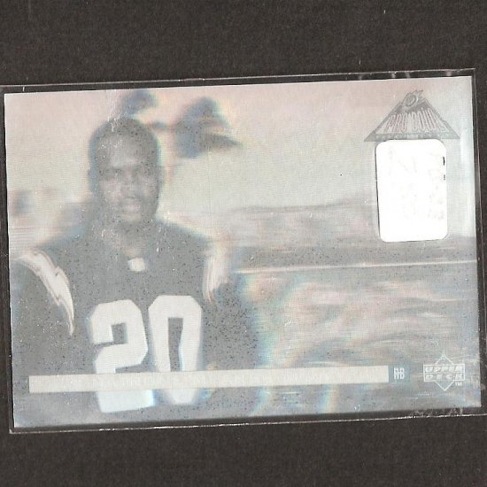 NATRONE MEANS - 1995 Upper Deck Pro Bowl Hologram - Chargers & North Carolina Tarheels