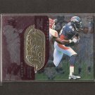 SHANNON SHARPE 1998 SPx Finite RADIANCE - Broncos & Savannah State