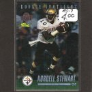 KORDELL STEWART 1995 Classic Draft FOILD ROOKIE - Steelers & Colorado Buffaloes