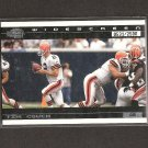 TIM COUCH 2001 Pacific Invincible Widescreen - Browns & Kentucky Wildcats