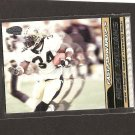 RICKY WILLIAMS 2001 Pacific Invincible Fast Forward - Saints, Dolphins & Texas Longhorns