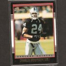 CHARLES WOODSON 2001 Bowman Gold - Raiders, Packers & Michigan Wolverines