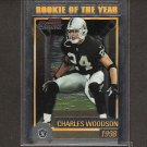 CHARLES WOODSON 2000 Bowman Chrome ROY - Raiders, Packers & Michigan Wolverines