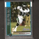 MICHAEL LEWIS 2002 Bowman SILVER Rookie - Eagles, Rams, 49ers & Colorado Buffaloes