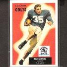 ALAN AMECHE 2001 Topps REPRINT - Baltimore Colts & Wisconsin Badgers