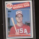 MARK McGWIRE - 1985 Topps ROOKIE - Athletics & St. Louis Cardinals