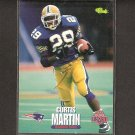 CURTIS MARTIN 1995 Classic ROOKIE - Patriots, Jets & Pitt Panthers