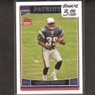 LAURENCE MARONEY 2006 Topps ROOKIE - Patriots, Broncos & Minnesota Golden Gophers