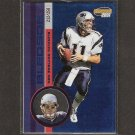 DREW BLEDSOE 2001 Pacific Invincible BLUE - Cowboys, Patriots & Washington State Cougars