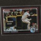 HANLEY RAMIREZ - 2010 Bowman Chrome REFRACTOR - Florida Marlins
