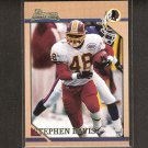STEPHEN DAVIS 2001 Bowman RC Reprint - Redskins & Auburn Tigers