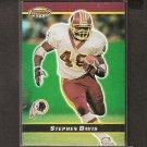 STEPHEN DAVIS 2000 Bowman's Best Players Refractor - Redskins & Auburn Tigers