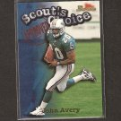 JOHN AVERY - 1998 Bowman Scout's Choice - Dolphins & Ole Miss